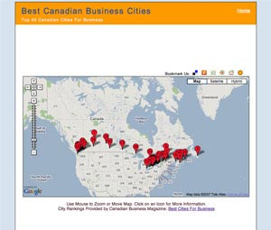 Image of Best Canadian Cities For Business